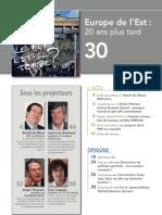 FORWARD, le magazine de la FEB, novembre 2009, Le sommaire