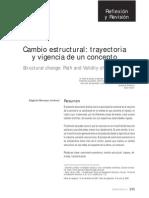 Moncayo - Vigencia de Estructura