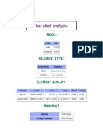 bar stool analysis
