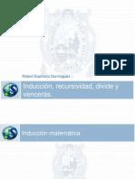 Cap 03 - Induccion Recursividad Divide y Venceras(1)