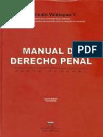 Manual de Derecho Penal - Fernando Velazques