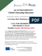Call for Seminar Project Team CISV
