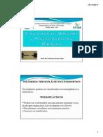 Características e Aplicações, Processamento de Polímeros