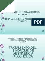 Sd. Abstinencia Alcoholica