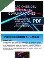 Aplicaciónes Del Laser en Las Comunicaciones