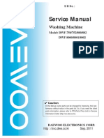 DWF-166WD Manual Servicio