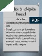 Modalidades de La Obligación Mercantil 2