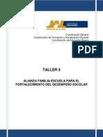 T-5. Alianza Familia-esc. PADRES