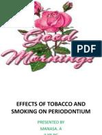 Sem 7 Smoking and Periodontium