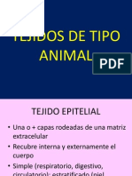 Tejidos de Tipo Animal