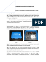 FIP Potentiometer Setting Procedure in Field[1]