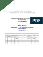 Especif de Materiales y Equipos