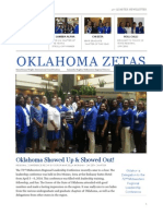 Oklahoma Zetas 4th Quarter 2013-2014