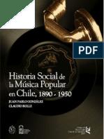 HISTORIA SOCIAL DE LA MUSICA POPULAR EN CHILE