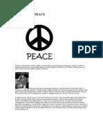 Rahsia Simbol PEACE -Dajjal Wordpress