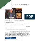 Teori Penyelidik Barat Tentang Tanda KAFIR Dajjal -Dajjal Wordpress