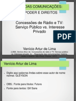 Concessoes de Radio e Tvv