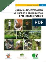 Guia Para La Determinaciòn de Carbono en Pequeñas Propiedades Rurales