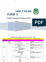 ICT Form 5 Yearly Plan 2010