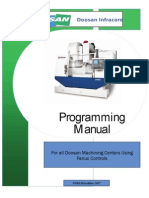 Manual Centro Mecanizado Doosan