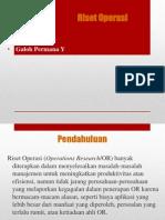 Pengenalan Riset Operasional1