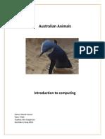 jansen alanah australian animals