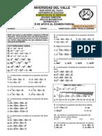 Taller Para Subir Décimas (de 0 a 5) en El Parcial de Matemáticas II Administracion 2014- 1 Univalle