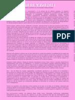 Manifiesto Unitario de Las Mujeres Trabajadoras