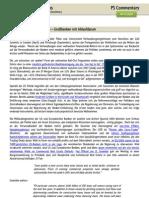 PS Commentary  - 04.11.2009 Der Aufbruch zum Aufbruch - Großbanken mit Ablaufdatum