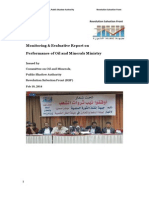 Monitoring Report on Oil and Minerals, Yemen