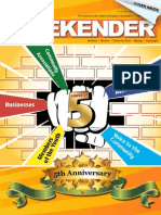 Indian Weekender 5th Anniversary Issue, May 1st, 2014