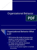 Organizational Behavior Chapter One