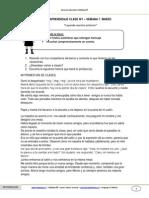 Guia Lenguaje 1basico Semana1 Marzo 2013 Integracion