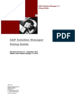 SAPSolutionManager7.1 SP10 SizingGuide