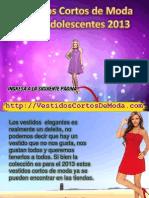 4. Vestidos Cortos de Moda Para Adolescentes 2013 _ J13