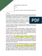Fichamento(Burocracia e Sociedade)