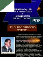 Seminario Taller Etica Pedagogica