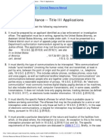 us attorneys' criminal resource manual 28 electronic surveillance -- title iii application