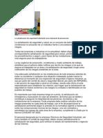 La Señalización de Seguridad Industrial Como Elemento de Prevención