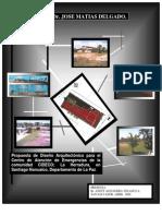 Propuesta de Diseño Arquitectonico Centro de Atencion de Emergencia- Tesis u Matias