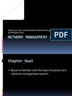 Week 1 and 2 - Network Management Basics