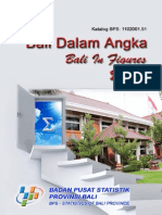 Bali Dalam Angka 2012