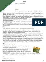 Sobre Certificados Digitais, Smart Card e Token