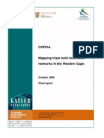 Mapping Triple Helix Innovation Networks in the Western Cape