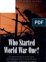 Harry Elmer Barnes - Who Started World War One
