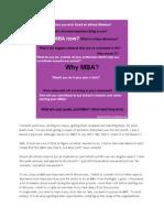 Why MBA- APEIRON