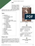 Julio Argentino Roca - Wikipedia, La Enciclopedia Libre