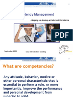Competences and Change Agent