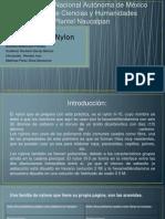 Formación Del Nylon