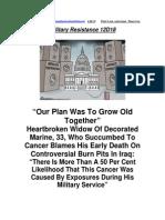 Military Resistance 12D18 Heartbroken